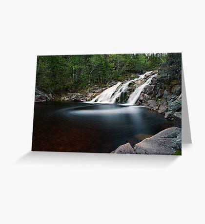 Mary Ann Falls, Cape Breton, Nova Scotia Greeting Card