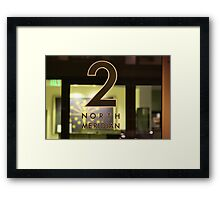 Right Here Framed Print