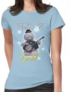 Silver & Gold  Womens Fitted T-Shirt