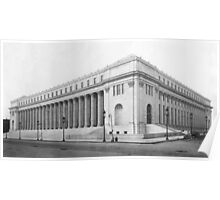 Vintage James Farley NYC Post Office Photograph Poster