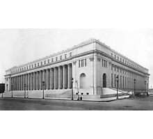 Vintage James Farley NYC Post Office Photograph Photographic Print