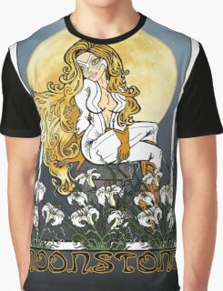 Moonstone Nouveau Graphic T-Shirt