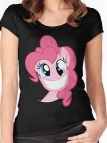 Pinkie Pie Party in my Head no text Women's Fitted Scoop T-Shirt