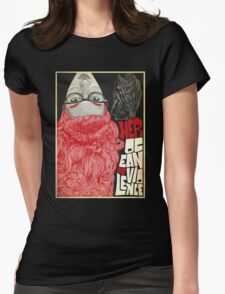 Tribute to Her Ocean of Violence Womens Fitted T-Shirt