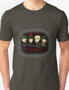 Nazi Zombies Cartoon Characters - Dempsey, Takeo, Nikolai, Richtofen T-Shirt