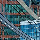 The Intercontinental Hotel in Downtown Boston - Abstract - Reflection by Jack McCabe