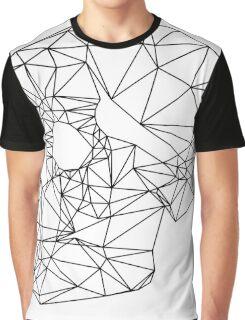 Wire Skull Graphic T-Shirt