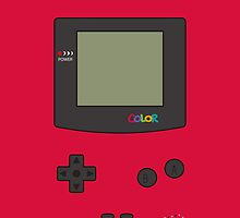 Gameboy Color iPhone/iPad Case ! (Berry) by vxspitter