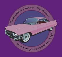 Pink Cadillac - Classic American Retro Car  by Mark Wilson