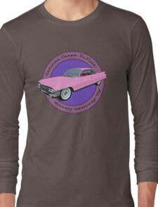 Pink Cadillac - Classic American Retro Car  Long Sleeve T-Shirt