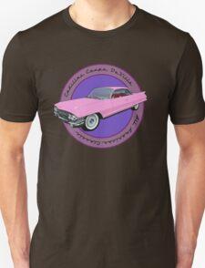Pink Cadillac - Classic American Retro Car  Unisex T-Shirt