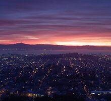 San Francisco Sunrise by Dave Smith
