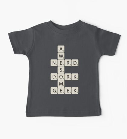Awesome Scrabble Baby Tee
