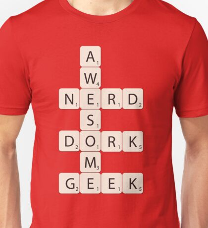 Awesome Scrabble Unisex T-Shirt