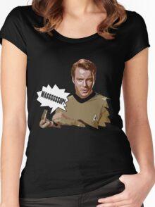 WASSSSSSUP KIRK! Women's Fitted Scoop T-Shirt