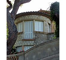 A House On Cap Ferrat Photographic Print