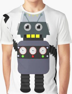 Funny robot Graphic T-Shirt