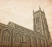 Cromer Church textured by James Taylor
