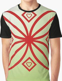 Petals and hearts Graphic T-Shirt