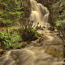 Harmby Waterfall by Mat Robinson
