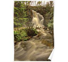 Harmby Waterfall Poster