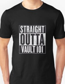 Straight Outta Vault 101 T-Shirt