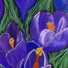 Space Crocus' by Deborah Pass