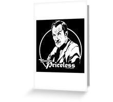 Vincent Priceless Greeting Card