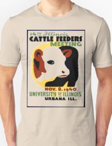 Cattle Feeders Meeting T-Shirt