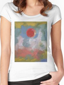 Goodbye Red Balloon Women's Fitted Scoop T-Shirt