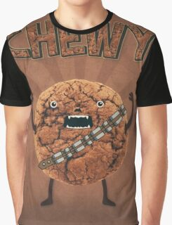 Chewy Chocolate Cookie Wookiee Graphic T-Shirt