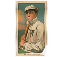 Benjamin K Edwards Collection Wid Conroy Washington Nationals baseball card portrait 001 Poster