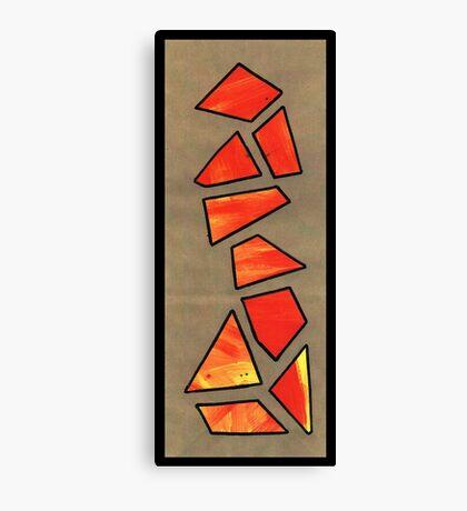 Triangle Person #2 Canvas Print