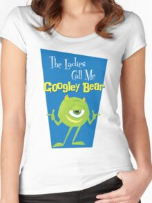 Call Me Googley Bear Women's Fitted Scoop T-Shirt