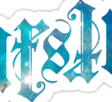 Starstuff Ambigram Sticker