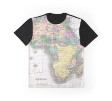 Vintage Map of Africa (1827)  Graphic T-Shirt