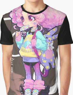 chibi Graphic T-Shirt