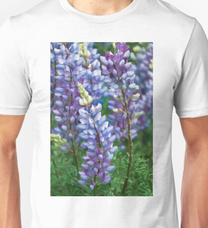 Dancing Lupines - Spring In Central California Unisex T-Shirt