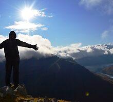 Glen Shiel Ridge, Scotland by Chris Gruar