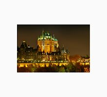 Night view of Le Chateau Frontenac, Quebec City Unisex T-Shirt
