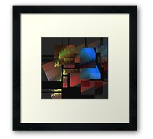 Stumbling Block... Framed Print