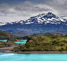 The Lakes of Torres del Paine #2 by Peter Hammer
