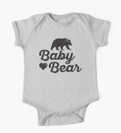 Baby Bear One Piece - Short Sleeve