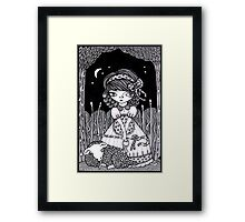 Pouty Miss Peep Framed Print