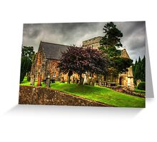 Biggar Kirk Greeting Card