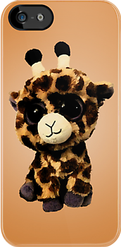 Baby Giraffe Case by Jenifer Jenkins