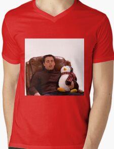 Joey and Hugsy (Friends) Mens V-Neck T-Shirt