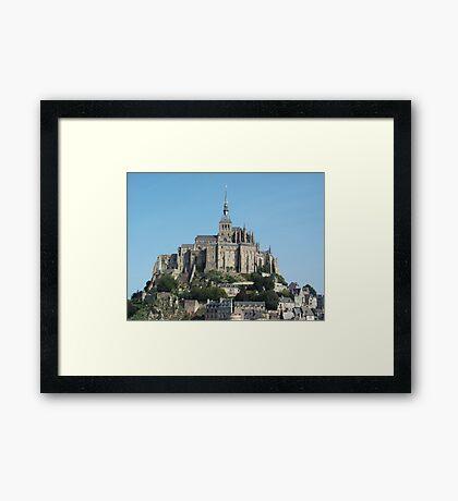Mont-Saint-Michel, France Framed Print