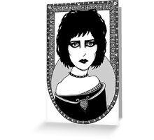 Siouxsie Greeting Card