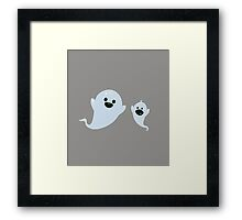 Ghosts Framed Print